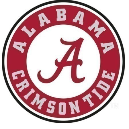 ALABAMA CIRCLE LOGO DECAL 3.5