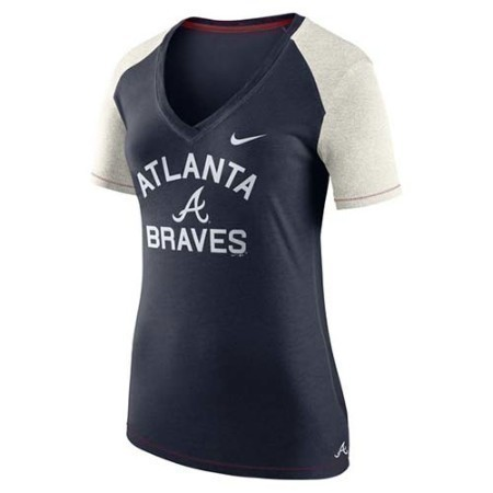 LADIES BRAVES NIKE FAN TOP Thumbnail
