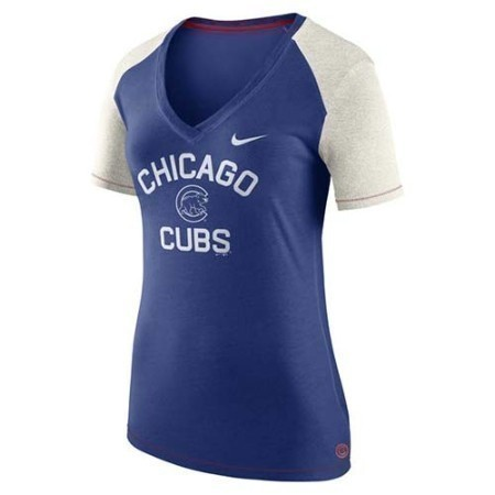 LADIES CUBS NIKE FAN TOP Thumbnail