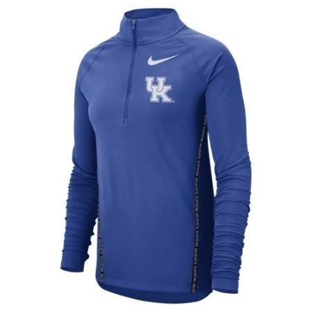 LADIES KENTUCKY NIKE 1/2 ZIP PULLOVER Thumbnail