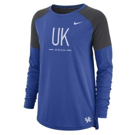 LADIES KENTUCKY NIKE LS TAILGATE TOP Thumbnail