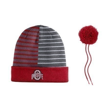 OHIO STATE BEANIE STRIPED Thumbnail