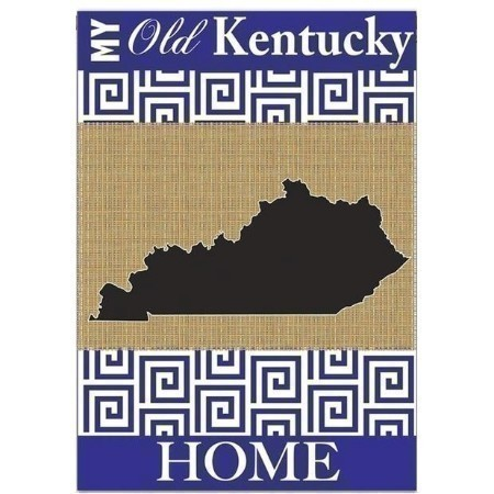 KENTUCKY BURLAP GARDEN FLAG Thumbnail