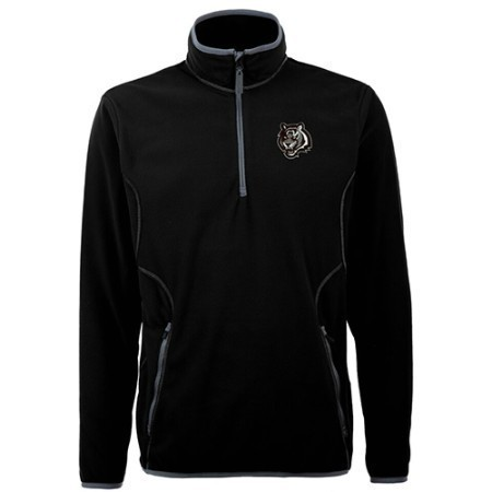 MENS BENGALS ICE PULLOVER ANTIGUA 1/4 ZIP Thumbnail