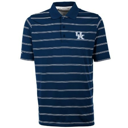 MENS KENTUCKY ANTIGUA  DELUXE POLO ROYAL Thumbnail