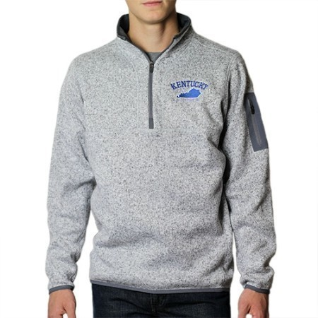 MENS KENTUCKY ANTGUA FORTUNE 1/4 ZIP  Thumbnail