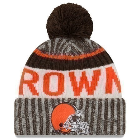 MENS BROWNS NEW ERA SPORT KNIT '17 Thumbnail
