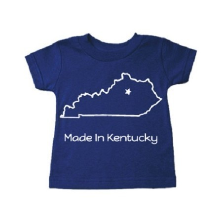 YOUTH KENTUCKY INFANT MADE IN KY STAR TEE Thumbnail