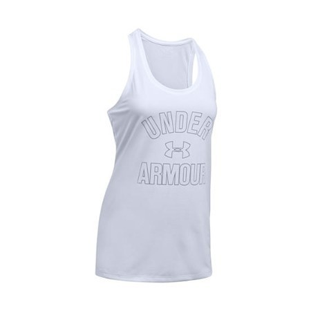 UNDER ARMOUR LADIES WORDMARK TANK Thumbnail