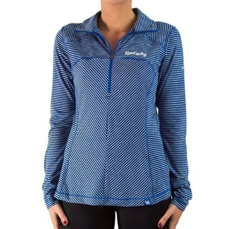 LADIES KENTUCKY COLUMBIA LAYER FIRST 1/2 ZIP Thumbnail