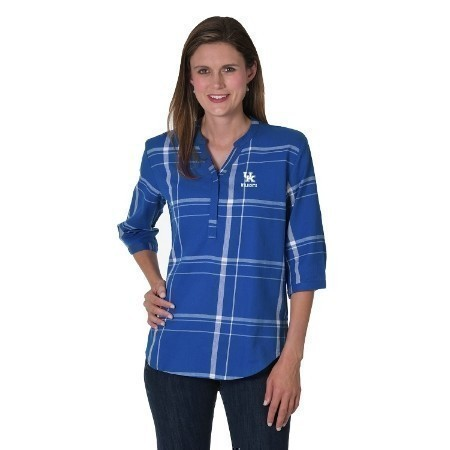 LADIES KENTUCKY PLAID TUNIC Thumbnail