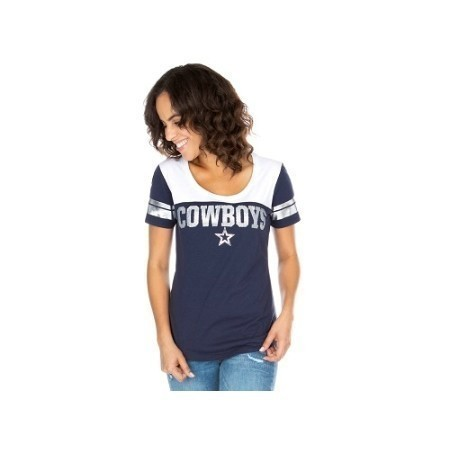 LADIES COWBOYS CANDICE TEE Thumbnail