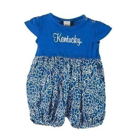 YOUTH KENTUCKY INFANT BUBBLE ROMPER Thumbnail