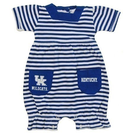 YOUTH KENTUCKY INFANT STRIPED ROMPER Thumbnail