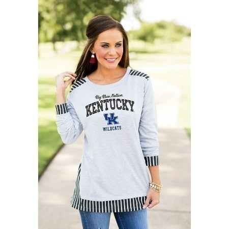 LADIES KENTUCKY SKIP THE LINES TUNIC Thumbnail
