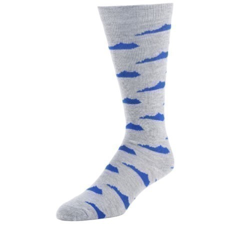 KENTUCKY STATE SOCK GREY Thumbnail