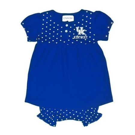 YOUTH KENTUCKY INFANT HEART DRESS/BLOOMER Thumbnail