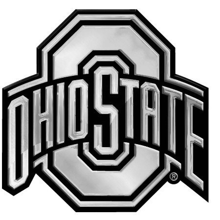 OHIO STATE CHROME EMBLEM Thumbnail