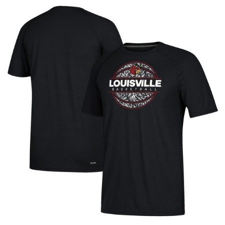 MENS LOUISVILLE ADIDAS ICED OUT BBALL TEE Thumbnail