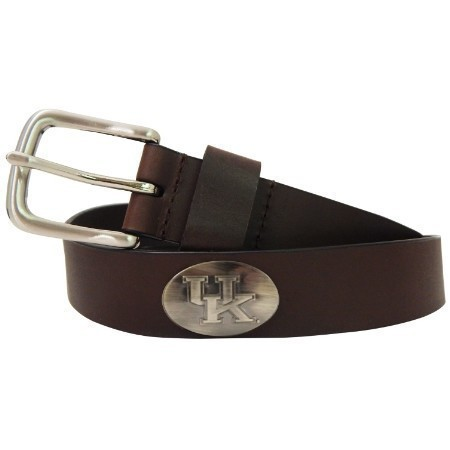 KY MENS BRIDLE BELT BROWN Thumbnail