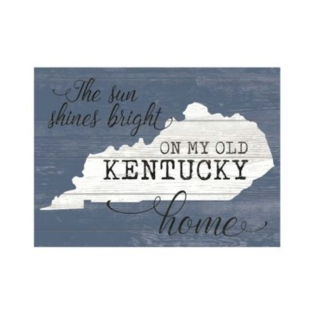 KENTUCKY OLD KY HOME SIGN Thumbnail