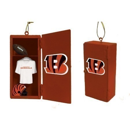 BENGALS TEAM LOCKER ORNAMENT Thumbnail