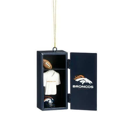 BRONCOS TEAM LOCKER ORNAMENT Thumbnail