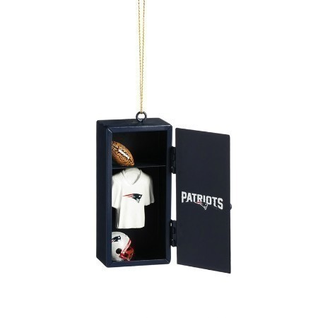 PATRIOTS TEAM LOCKER ORNAMENT Thumbnail