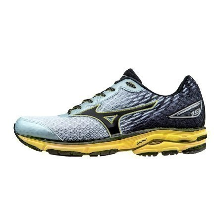 MIZUNO MEN'S WAVE RIDER 19 RUNNING SHOE. Thumbnail
