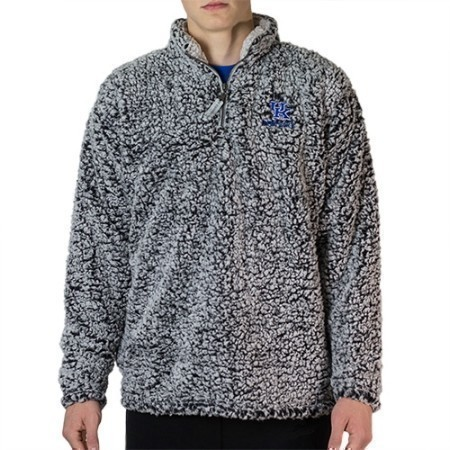 MENS KENTUCKY 1/4 ZIP SHERPA PO OUTER18 Thumbnail