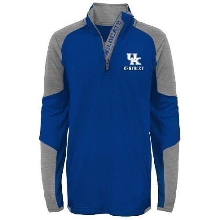 YOUTH KENTUCKY 1/4 ZIP TOP Thumbnail