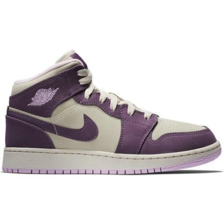 GIRLS GRADE SCHOOL AJ 1 MID PRO PURPLE/DESER Thumbnail