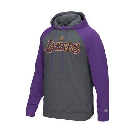 ADIDAS MENS LAKERS TIPOFF PULLOVER HOODIE Thumbnail