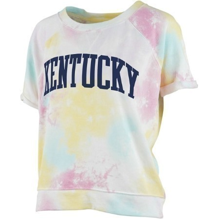 LADIES KENTUCKY TIE DYE SPLASH TEE Thumbnail