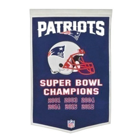 PATRIOTS DYNASTY BANNERS  Thumbnail