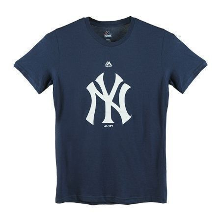 MAJESTIC BOYS YANKEES PRIMARY LOGO TEE Thumbnail