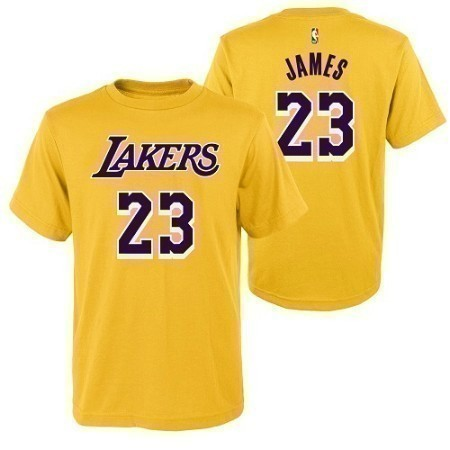 YOUTH LAKERS JAMES N&N TEE Thumbnail