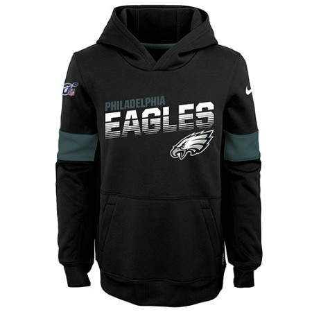 YOUTH EAGLES NIKE THERMA HOODIE  Thumbnail