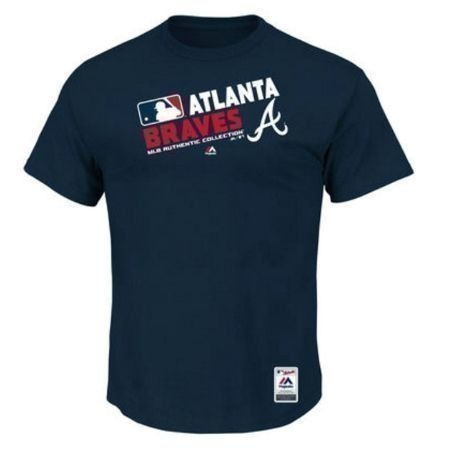 MAJESTIC MENS BRAVES TEAM CHOICE TEE Thumbnail