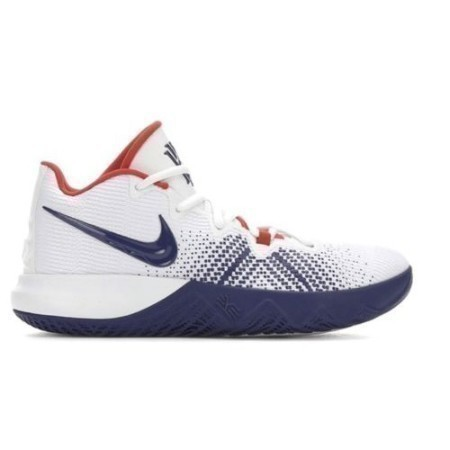 MENS NIKE KYRIE FLYTRAP WHT/DP ROY/RED Thumbnail