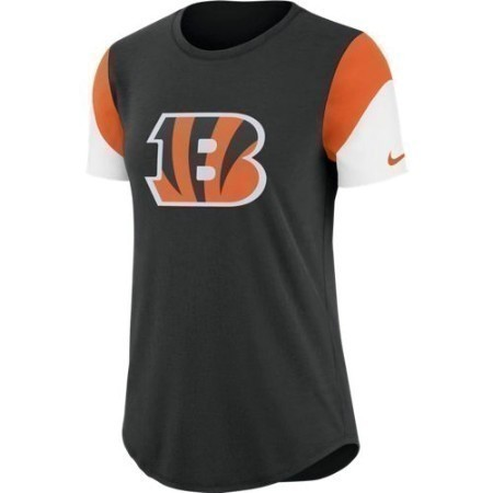 LADIES BENGALS NIKE TRI TEAM FAN TEE Thumbnail