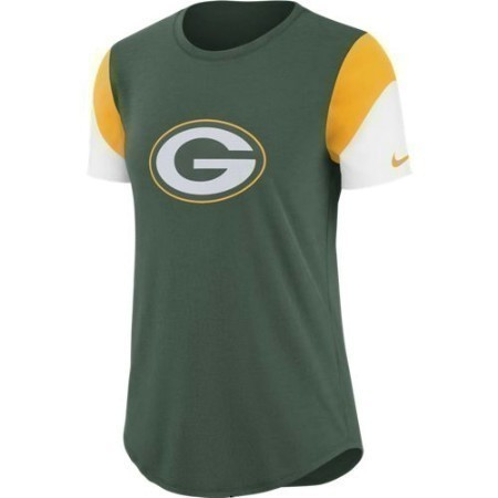 LADIES PACKERS NIKE TRI TEAM FAN TEE Thumbnail