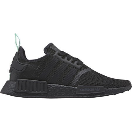 LADIES ADIDAS NMD_R1 BLK/BLK/CLEAR MINT Thumbnail