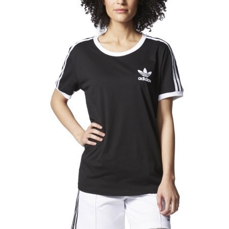 ADIDAS LADIES 3 STRIPE TEE Thumbnail