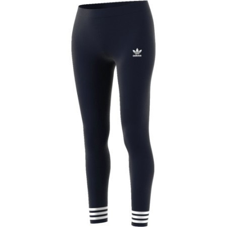 ADIDAS LADIES SOLID/STRIPE LEGGING Thumbnail