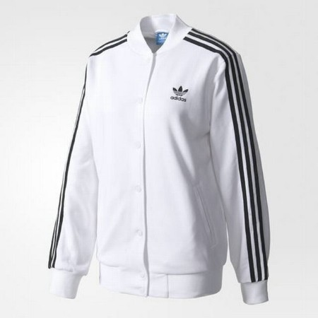 ADIDAS LADIES 3 STRIPE BOMBER  Thumbnail