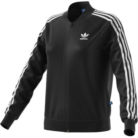 ADIDAS LADIES STRIPE TREFOIL JACKET Thumbnail