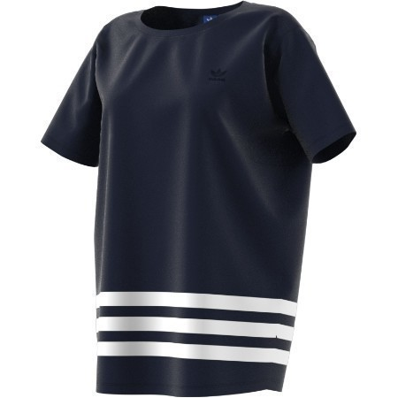 ADIDAS LADIES STRIPE TEE Thumbnail