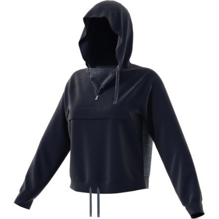 ADIDAS LADIES HOODED SWEATSHIRT  Thumbnail