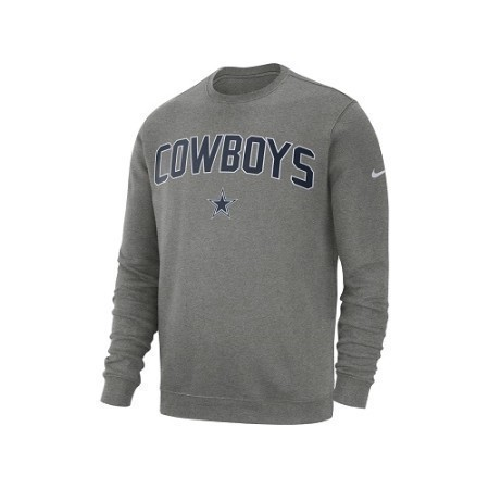 MENS COWBOYS NIKE FLEECE CREW Thumbnail